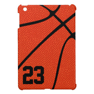 Basketball Player or Coach Jersey Number or Letter Case For The iPad Mini