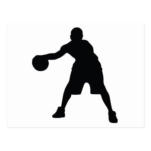 Basketball Player Post Card