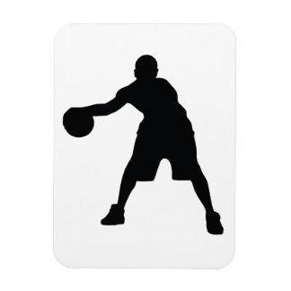 Basketball Player Magnet