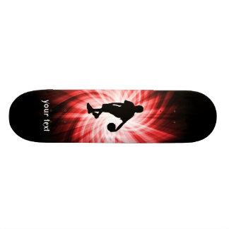Basketball Player; Red 20.6 Cm Skateboard Deck