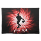 Basketball Player; Red Placemat