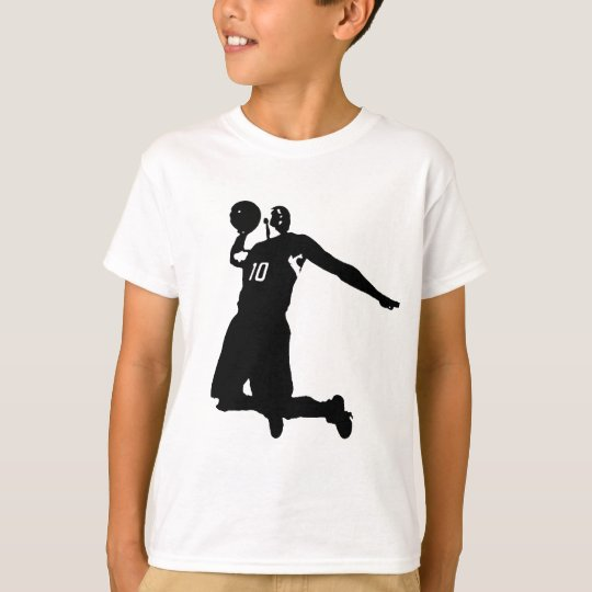 Basketball Player Silhouette T-Shirt