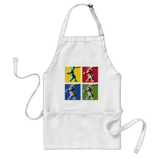 Basketball player standard apron