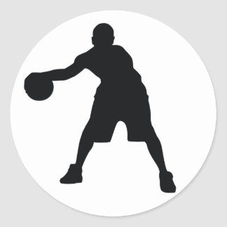 Basketball Player Sticker