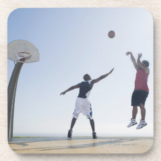 Basketball players 3 beverage coasters