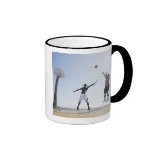 Basketball players 3 coffee mugs
