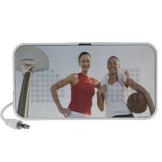 Basketball players 4 travelling speaker