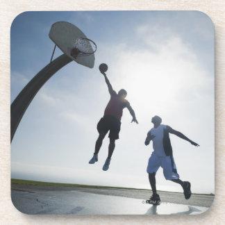 Basketball players 5 coasters