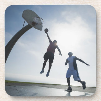 Basketball players 5 coasters