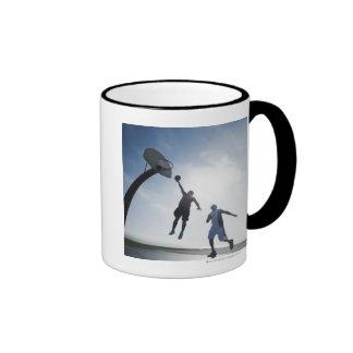 Basketball players 5 mug
