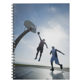 Basketball players 5 notebooks