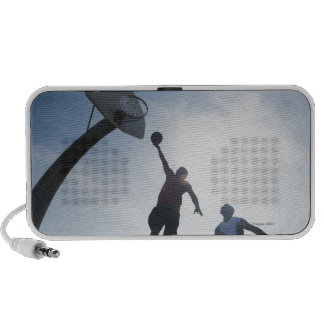 Basketball players 5 portable speakers