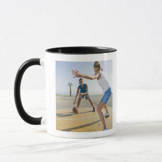 Basketball players 6 mug
