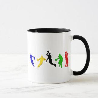 Basketball players hoops   basketball mug