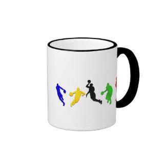 Basketball players hoops   basketball coffee mugs