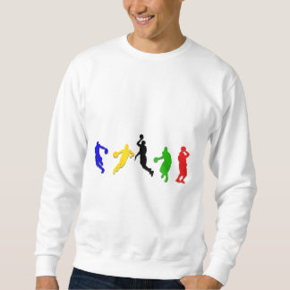 Basketball players hoops   basketball sweatshirt