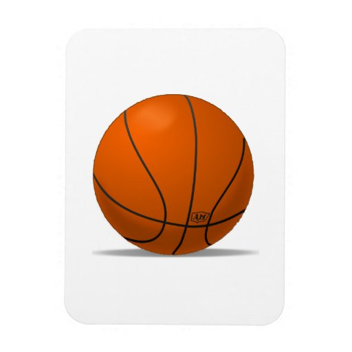 Basketball Vinyl Magnets