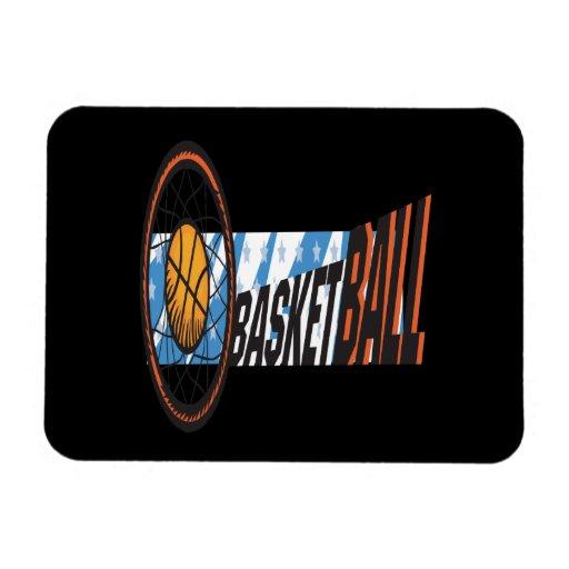Basketball Vinyl Magnet