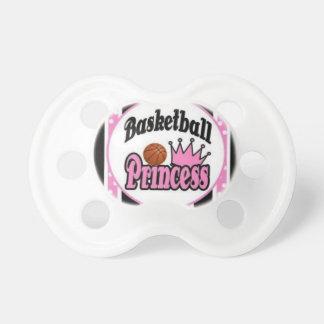 Basketball princess-pink baby pacifier