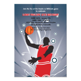 Basketball Pro Invitation