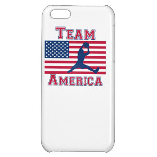 Basketball Rebound American Flag Team America iPhone 5C Cases