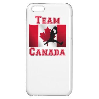 Basketball Rebound Canadian Flag Team Canada iPhone 5C Cases