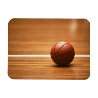 Basketball Rectangular Photo Magnet