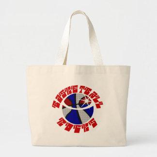 Basketball Rocks Tote Bag