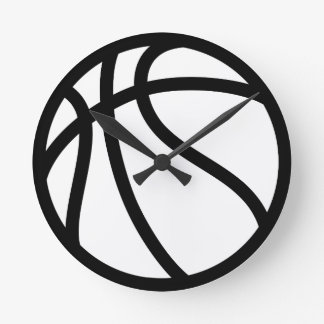 BASKETBALL ROUND CLOCK