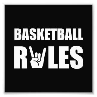 Basketball Rules Photo Art