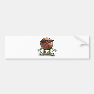 Basketball Shades Bumper Sticker
