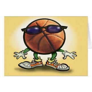 Basketball Shades Greeting Card