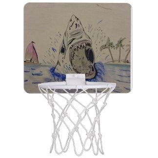 basketball shark. mini basketball hoop