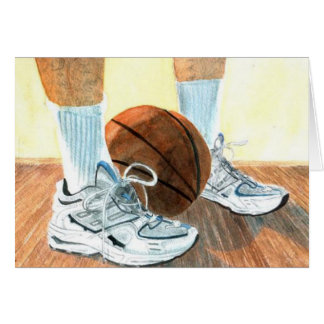 Basketball shoes Greeting Cards