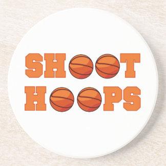 Basketball Shoot Hoops T-shirts and Gifts Coaster