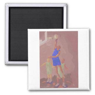 Basketball Slam Dunk, Magnet