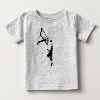 Basketball Slam Dunk Silhouette Baby T-Shirt