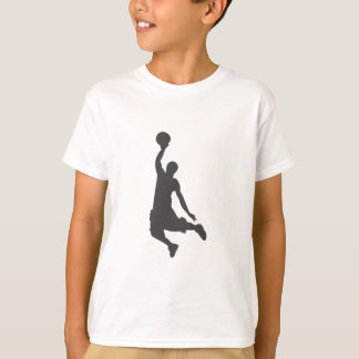 Basketball Slam Dunk silhouette T-Shirt