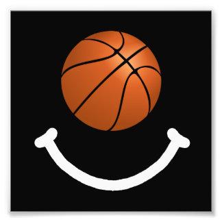 Basketball Smile Art Photo