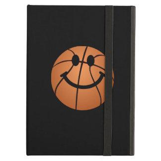 Basketball smiley face iPad air cover
