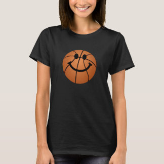 Basketball smiley face T-Shirt