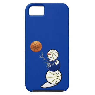 Basketball Snowman iPhone 5 Cases