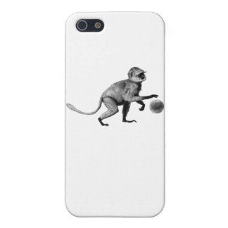 Basketball spider monkey iPhone 5 cases
