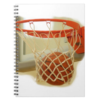Basketball Spiral Notebook
