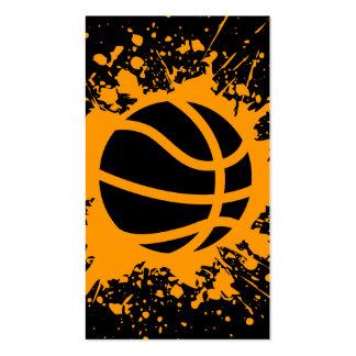 basketball splatz pack of standard business cards