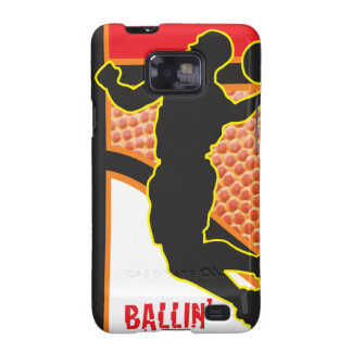 Basketball Sport Abstract Design Galaxy S2 Cover
