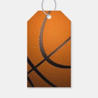 Basketball Sport Design Gift Tags