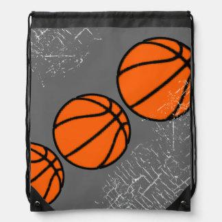 basketball sporting goods drawstring bag