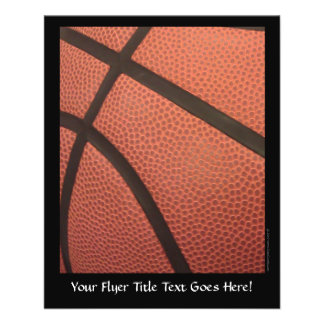 Basketball Sports Image 11.5 Cm X 14 Cm Flyer