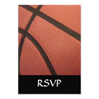 Basketball Sports Image 9 Cm X 13 Cm Invitation Card
